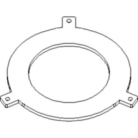 70257504 New Clutch Backup Plate For Allis Chalmers 185