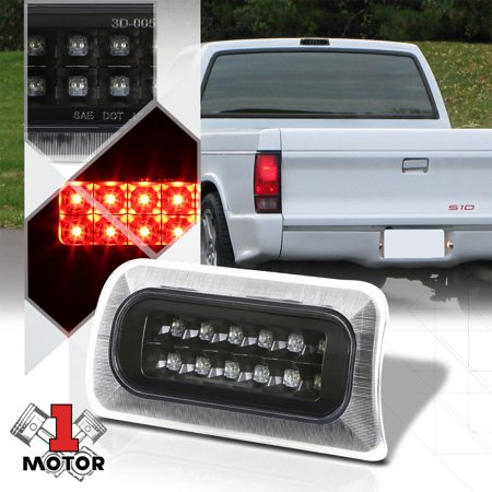 Black Clear Rear Led Third 3rd Brake Light For 94 03 Chevy S10 Sonoma Hombre 95 96 97 98 99 00 01 02