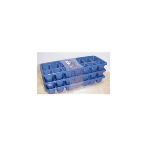 DDI 1335960 3pk Ice Cube Trays Case Of 24