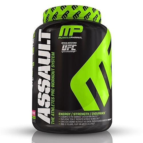 MusclePharm? Assault - Raspberry Lemonade 1.59 lb(s).
