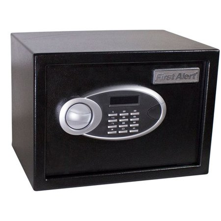 First Alert Anti-Theft Safe Box with Dual-Lock