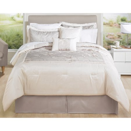 home trends crewel comforter set
