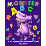 Monster ABC: An ABC Alphabet Rhyming Picture Book for Children by