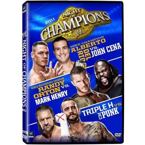 WWE: Night Of Champions 2011  (Full Frame)