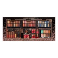 Beauty Runway 89-Piece Nudes, Roses & Smokey Cosmetic Gift Set