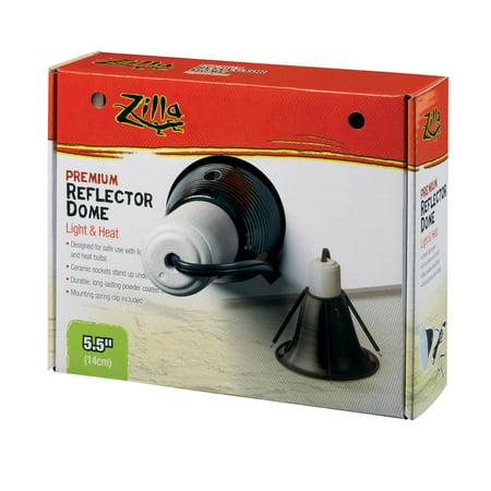 Zilla Premium Black Reflector Dome, 5.5