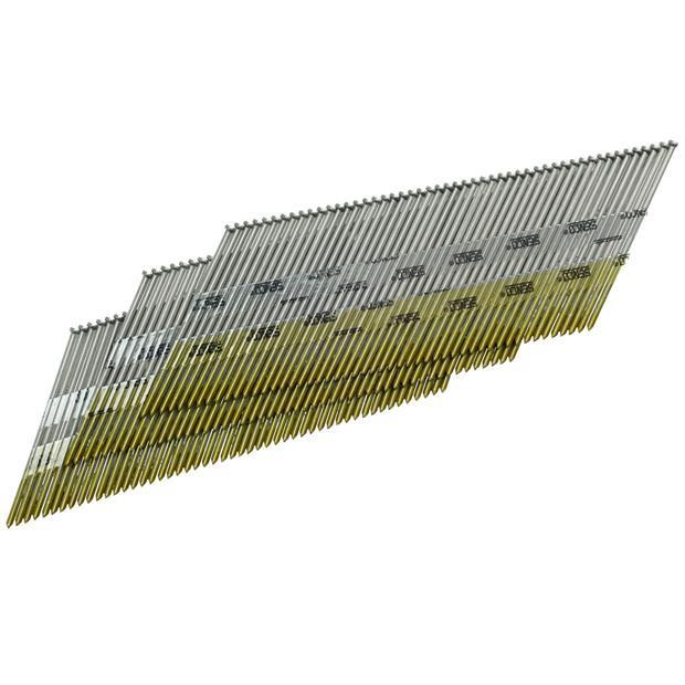 Senco DA25EPB 15ga Angled Finish Nails, 2-1/2 In - Pack of 3000