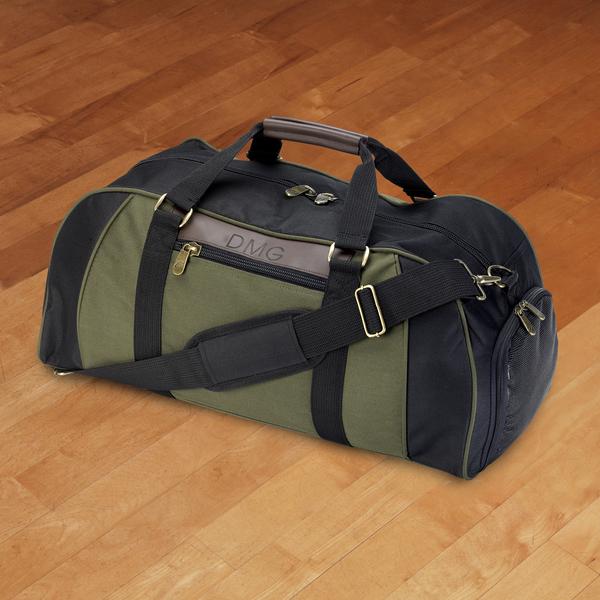 Personalized Duffle Bag - Deluxe - Weekender - Monogrammed