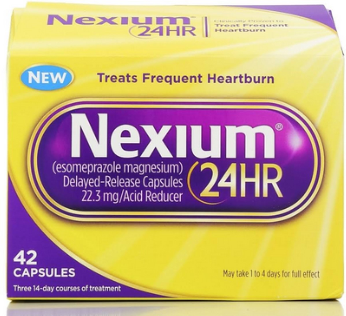 Nexium 24HR Capsules 42 ea (Pack of 6)