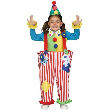 Crazy Clown (Crazy Clown Toddler Costume)