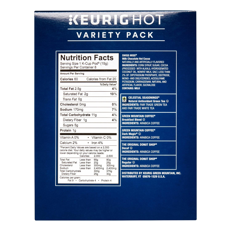 Variety Pack Single-Serve K-Cup