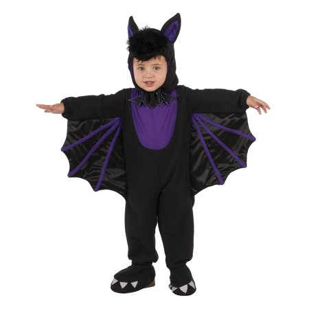 Bitty Bat Infant Toddler Boys Vampire Animal Halloween Costume Romper (Halloween Blaze Ny)