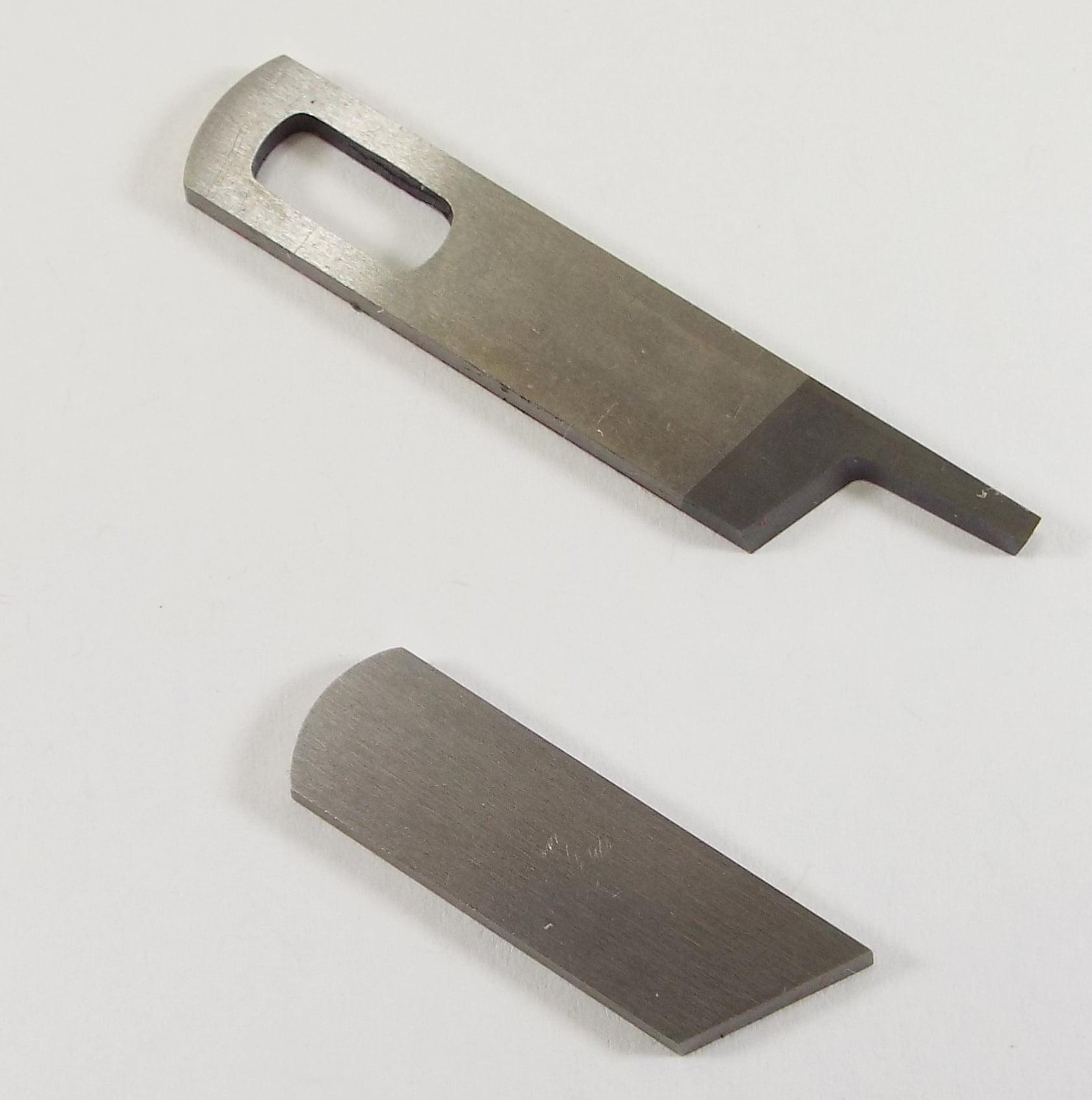 Singer 14U Series Serger Knife Set Includes Upper 412585 & Lower 412749 See Description For Models