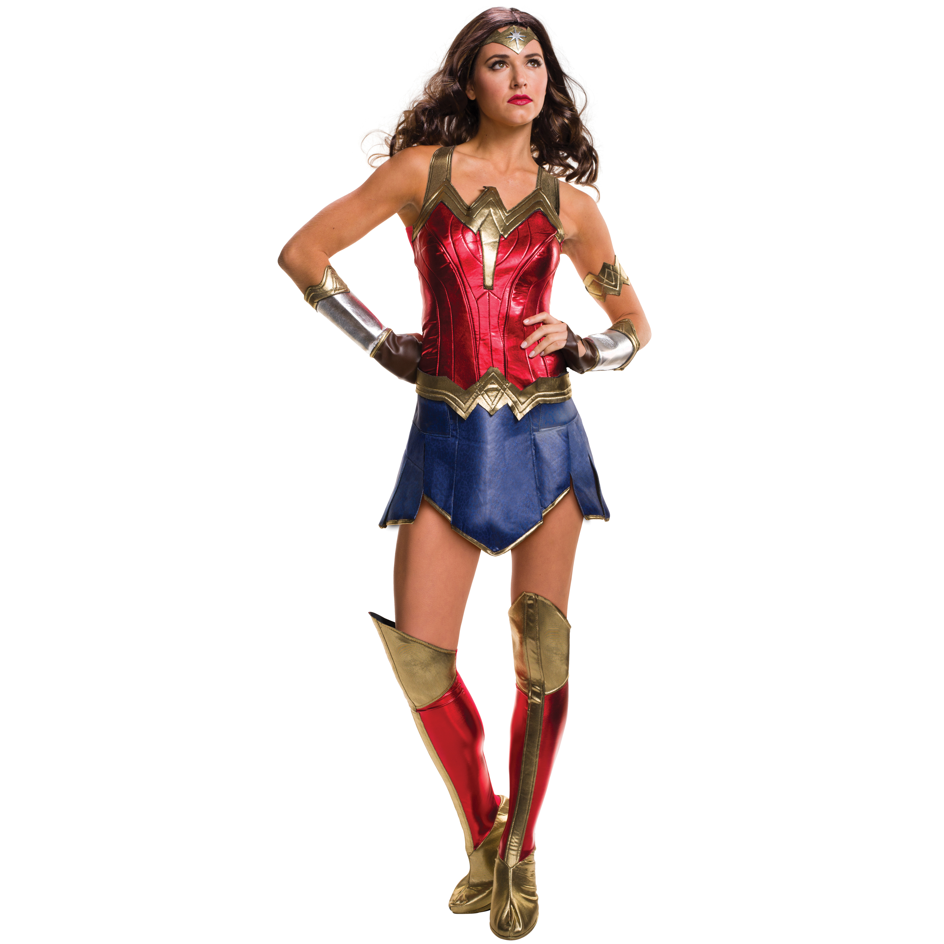Wonder Woman Adult Costume, Small (4-6)