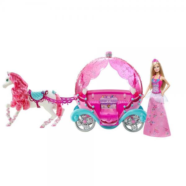 Mattel Barbie Fairytale Horse and Carriage