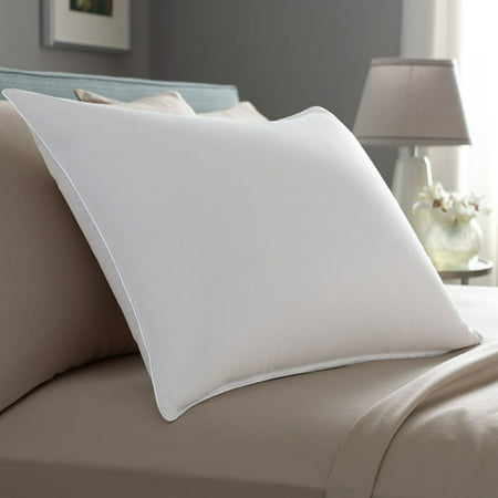 Pacific Coast Euro Rest Featherbed - Pacific Coast Down Surround Pillow w/ One Pillowtex Pillow Protector - Standard