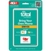 Total CDMA Compatible Universal SIM Activation Kit