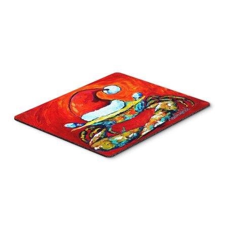 Crab In Santa Hat Santa Claws Mouse Pad  Hot Pad Or Trivet Mw1169mp