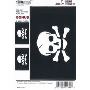 TRIMBRITE T1896 Decal, Jolly Roger Flag
