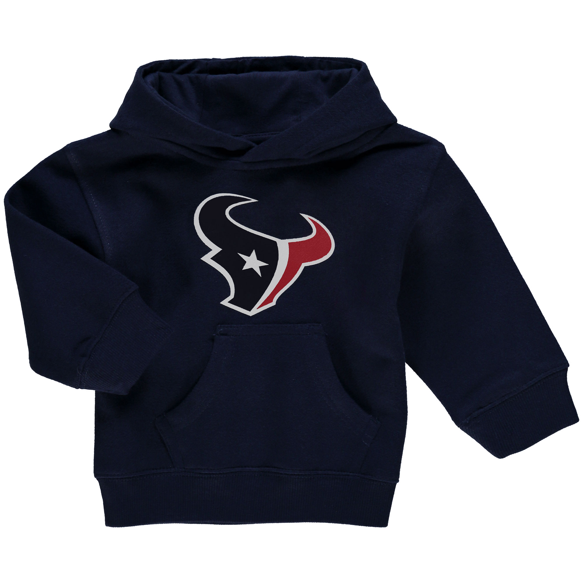 Houston Texans Toddler Team Logo Fleece Pullover Hoodie - Navy