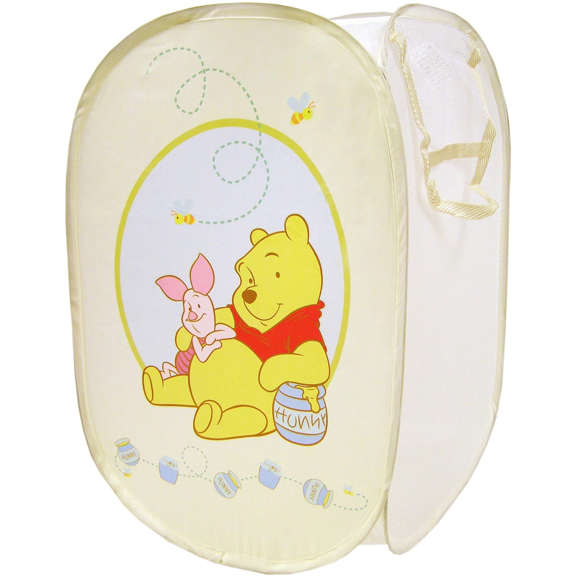 Disney Winnie the Pooh Square Hamper