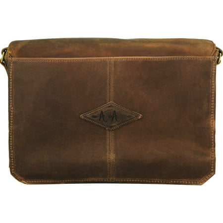 Ace And Archer Men's Revere Messenger Leather Bag - Ten - image 1 de 3