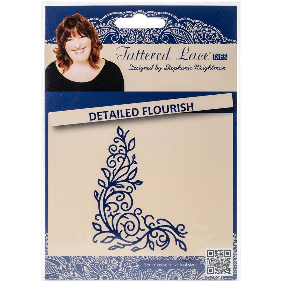 Tattered Lace Metal Die-detailed Flouris