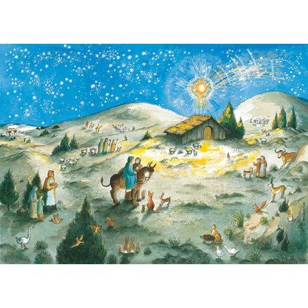 Away in a Manger Advent Calendar (Holiday Calendar 2009)