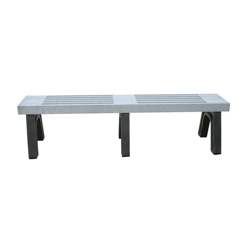 Polly Products Elite Recycled Plastic Flat Bench