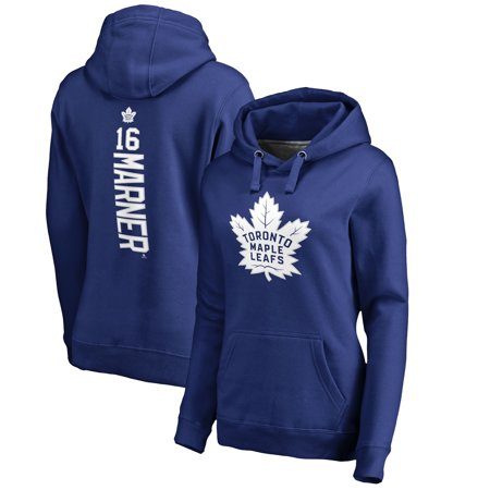 Mitchell Marner Toronto Maple Leafs Fanatics Branded Women's Backer Name & Number Pullover Hoodie - Blue](Toronto Maple Leafs Halloween Party)