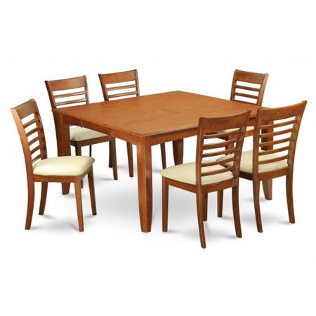 sbr c 9 piece formal dining room set dinette table with leaf and 8