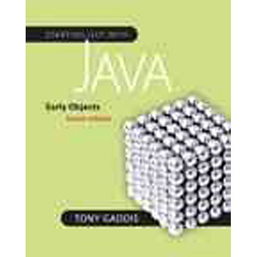 Starting Out With Java Early Objects by Tony Gaddis