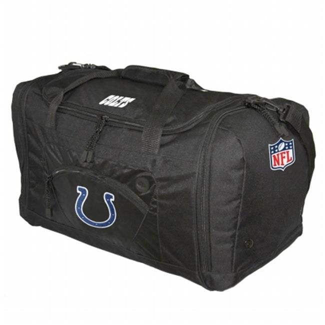 Concept 1 CNO-NFIC5011-BK Indianapolis Colts NFL Roadblock Duffle Bag - Black