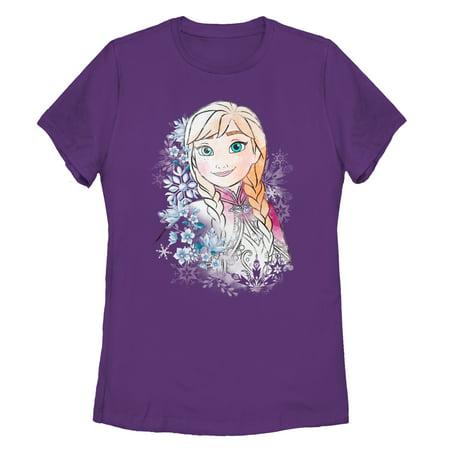 Self Portrait T-shirt - Frozen Women's Anna Frost Portrait T-Shirt