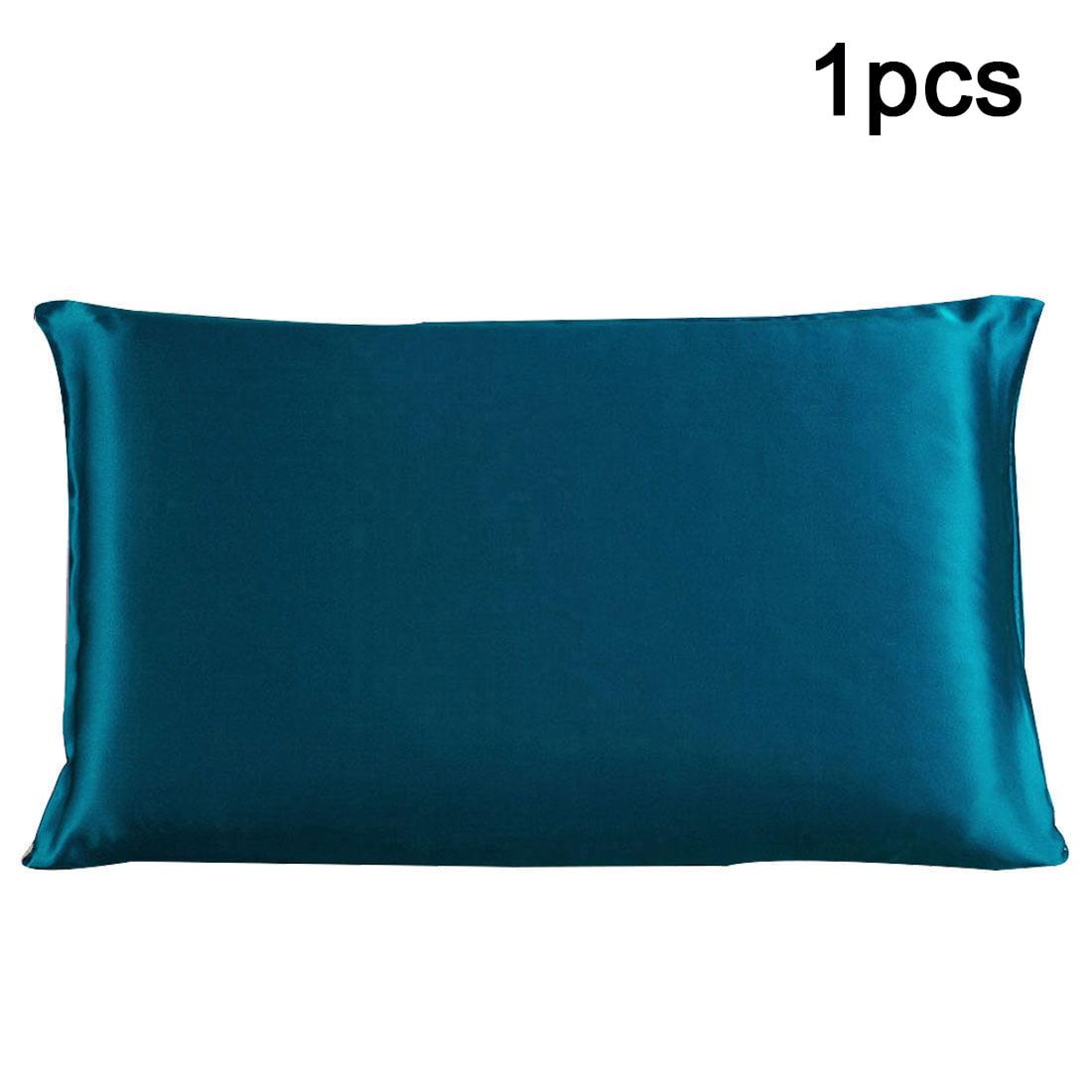 Piccocasa 100 Mulberry Silk Fabric Pillow Case Cover
