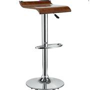 Modern Contemporary Wood Bar Stool Oak