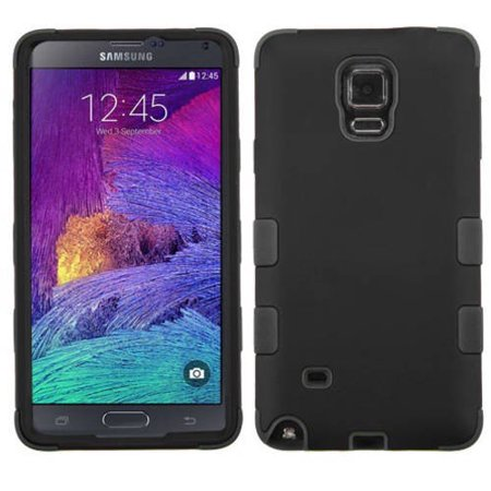 Samsung Galaxy Note 4 MyBat TUFF Hybrid Phone Protector Cover (Note Four Life Proof)
