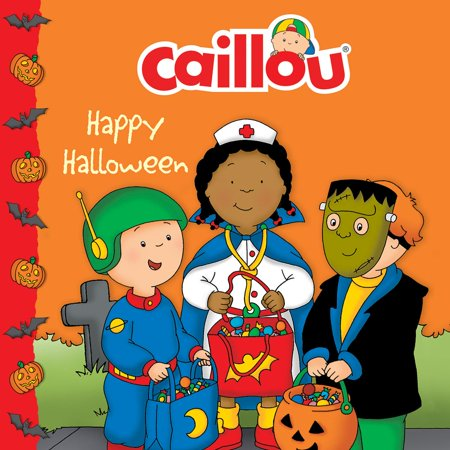 Caillou 8x8: Caillou: Happy Halloween (Paperback)