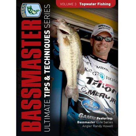 Bassmaster  Ultimate Tips And Techniques Series   Topwater Fishing