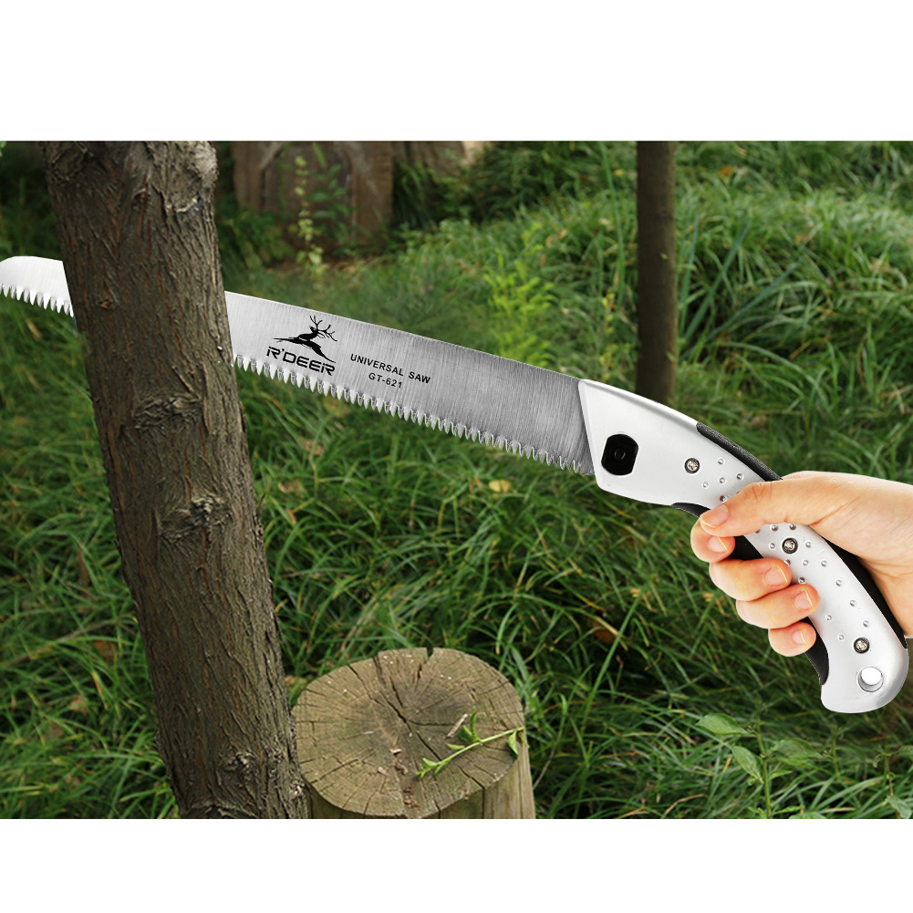 Dilwe 270mm Practical Portable Hand Saw Landscape Gardening Orchard Pruning Cutting Tool, Hand Saw, Gardening... by