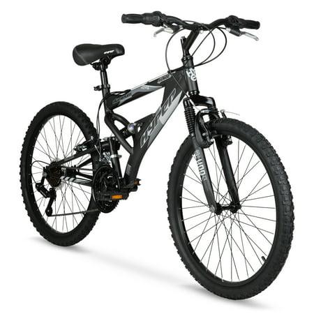 "Hyper Bicycles 24"" Boys Havoc Mountain Bike, Kids, Black"