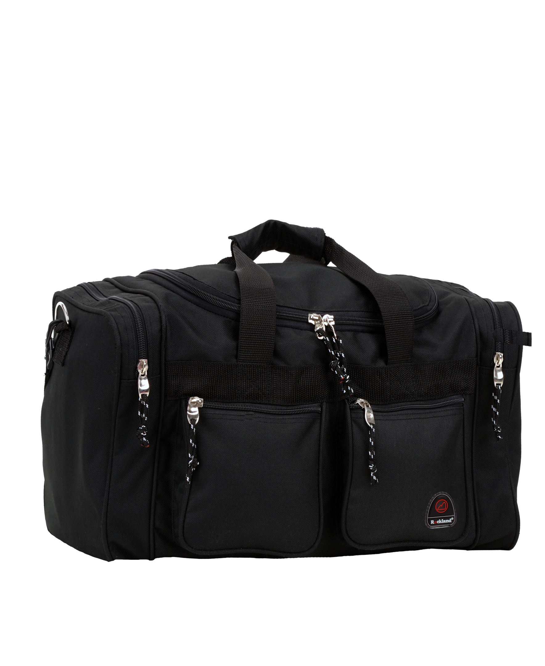 Black One Size Rockland Luggage 19 Inch Tote Bag