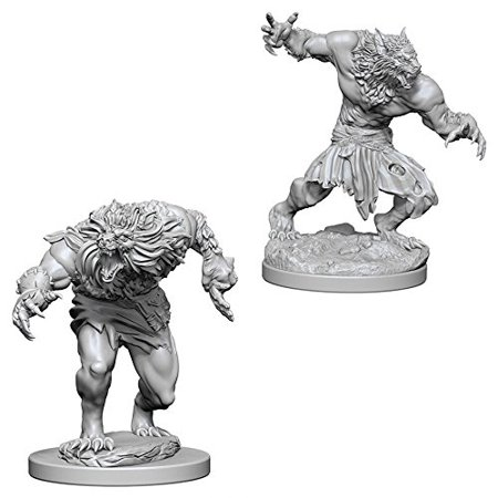 Nolzur's Marvelous Unpainted Minis: Werewolves, Dungeons & Dragons Nolzur's Marvelous MiniaturesWalmarte with highly-detailed figures, pre-primed with.., By Dungeons Dragons