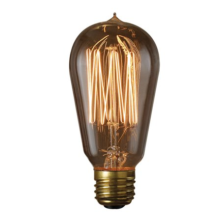 Bulbrite 40W Thread Filament Incandescent Edison Light Bulb - 6 pk.