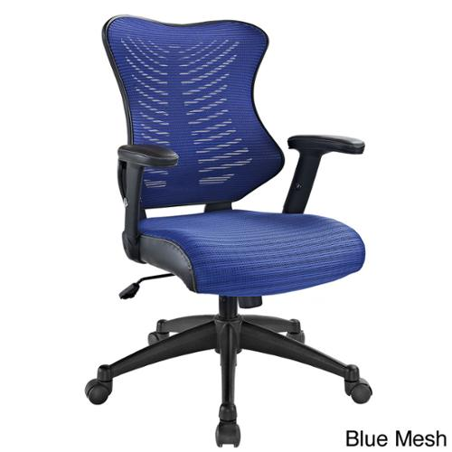 Clutch Office Chair with Black Mesh Back and Seat Clutch Office Chair with Blue Mesh Back and Seat