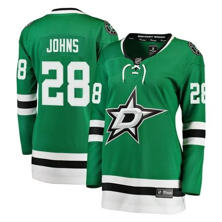 Stephen Johns Dallas Stars Fanatics Branded Women's Breakaway Player Jersey - Kelly