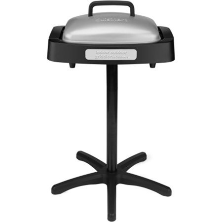Cuisinart Electric Non Stick Indoor and Outdoor Grill with Reversible (Metal Outdoor Grill)