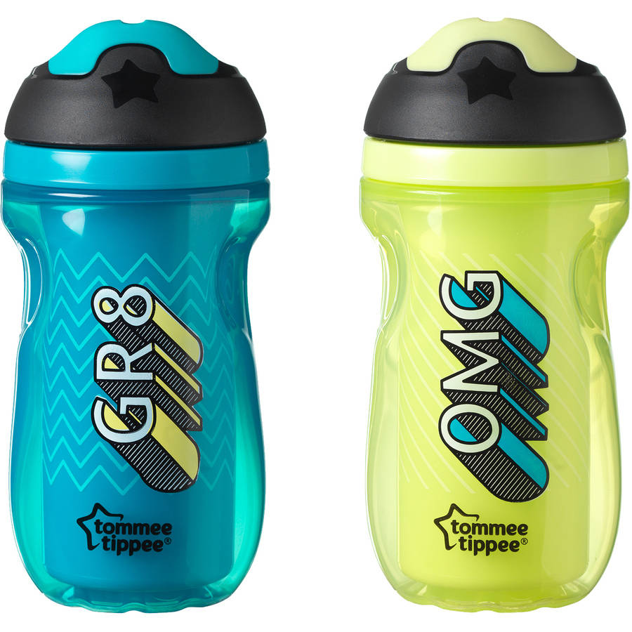 Tommee Tippee 2pk Insulated Sipper Tumbler, Boy