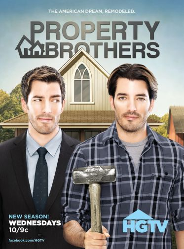 "Property Brothers Poster Mini 11/""X17/"""