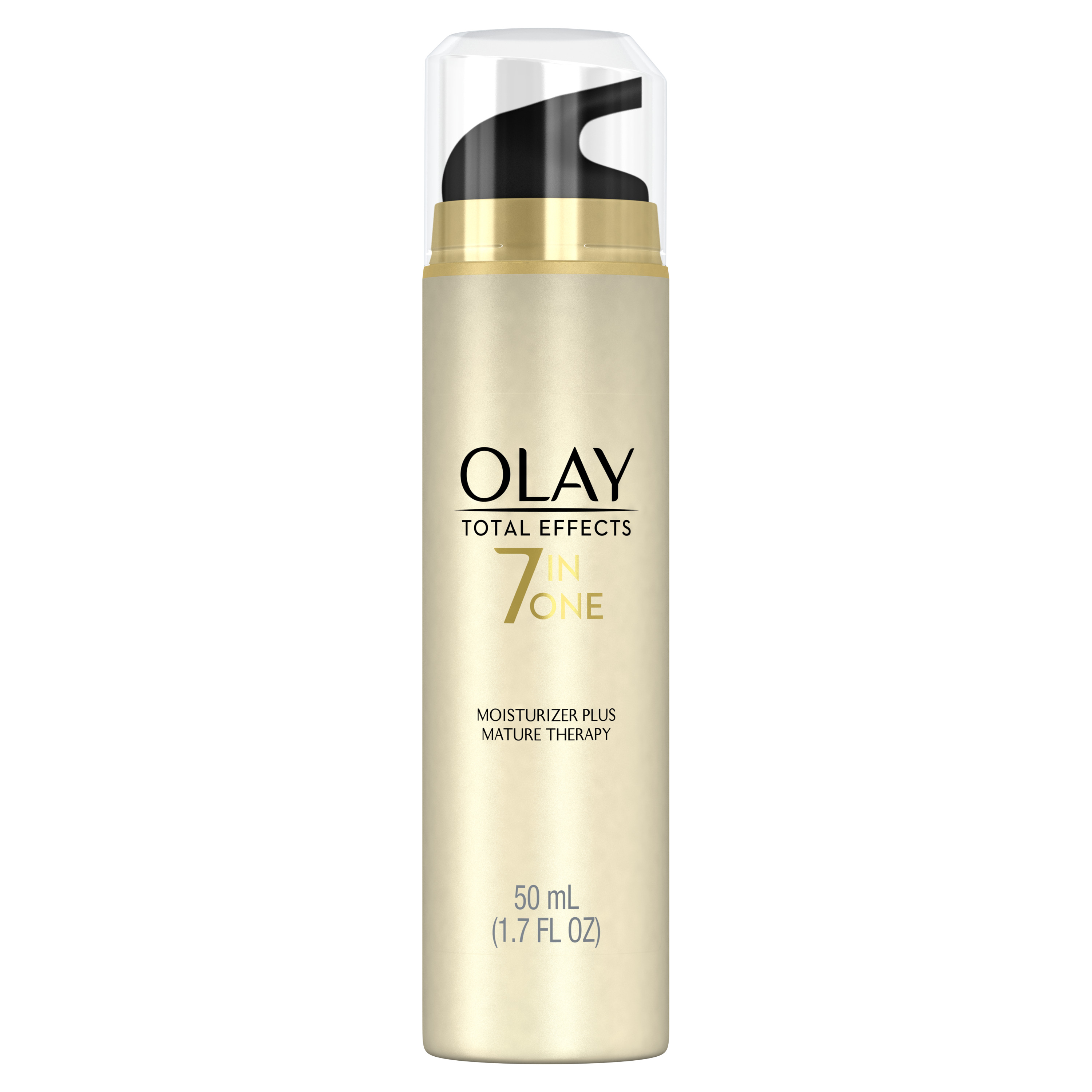 Olay Total Effects 7-in-One Face Moisturizer Mature Therapy Treatment, 1.7 fl oz